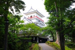 千秋公園の久保田城
