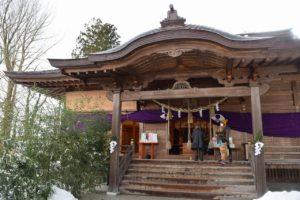千秋公園の八幡秋田神社