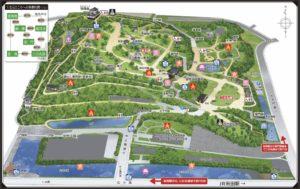 千秋公園map