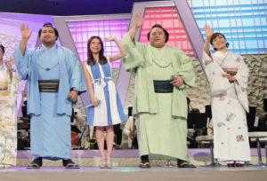 福祉大相撲の様子