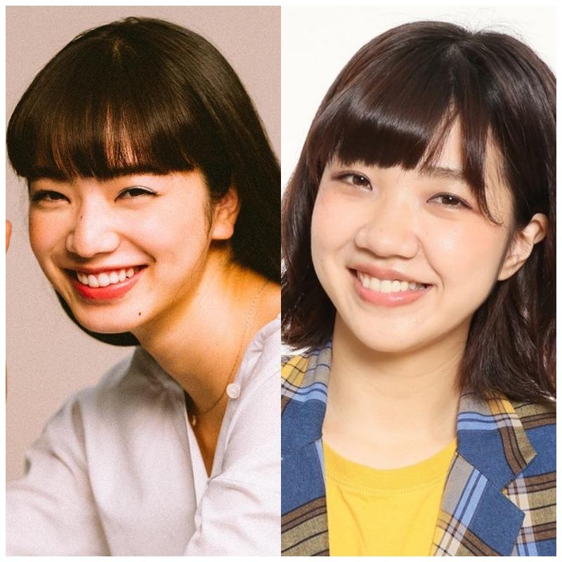小松菜奈さんと福田麻貴さんの比較画像