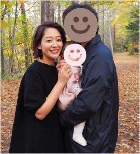 吉田明世アナと旦那さんの画像