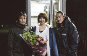 坂口拓さんと篠田麻里子さんと監督