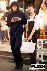 中村ゆりさんと林遣都さんの画像