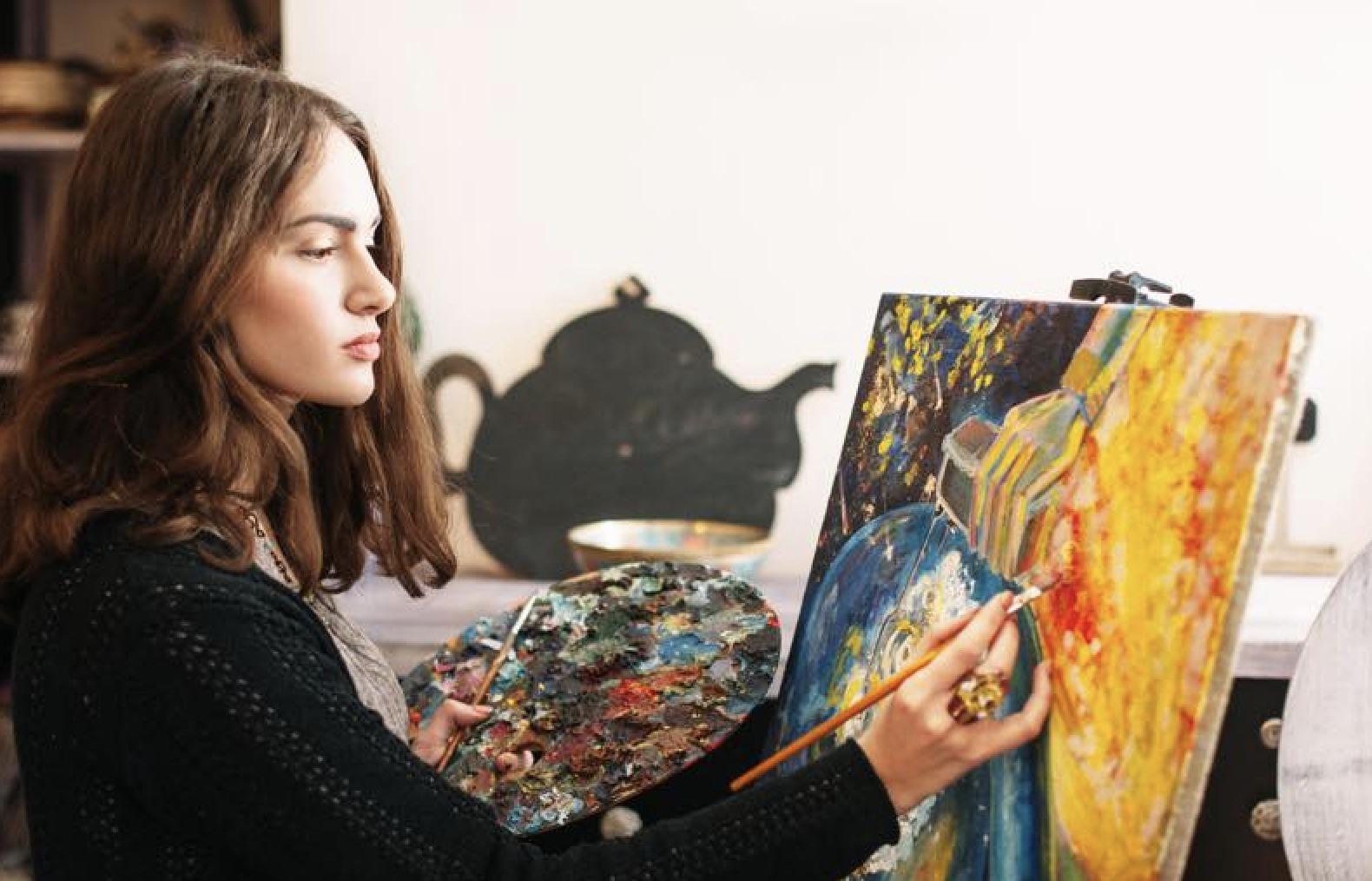 画家の画像