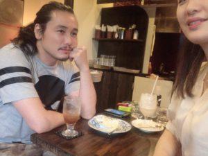 坂口拓さんと兄弟の画像