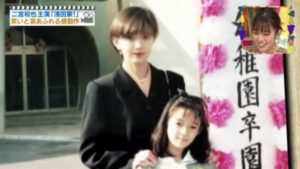 佐藤栞里さんの母親の画像
