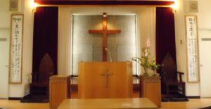 吉田羊さんの父親が勤めていた久留米荒木キリスト教会