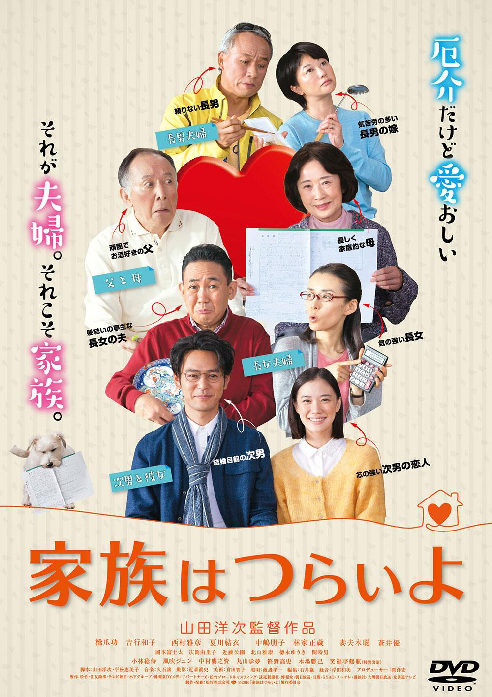 映画『家族はつらいよ』の画像