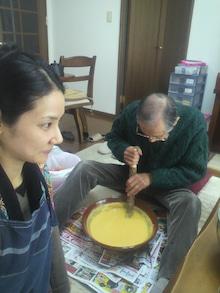 吉田羊さんと父親の画像
