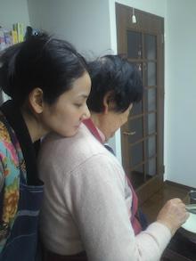 吉田羊さんと母親の画像