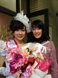 澤田有也佳アナと母親の画像
