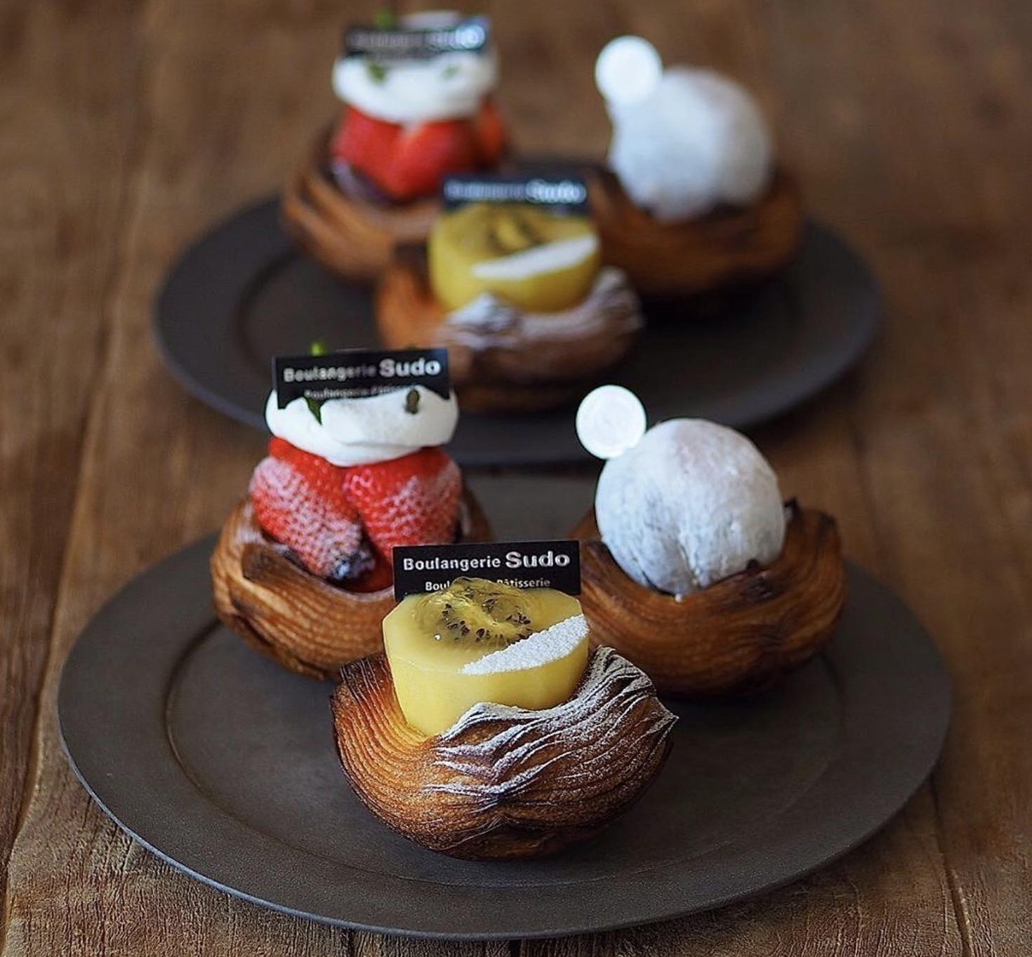 Boulangerie Sudoのフルーツデニッシュ