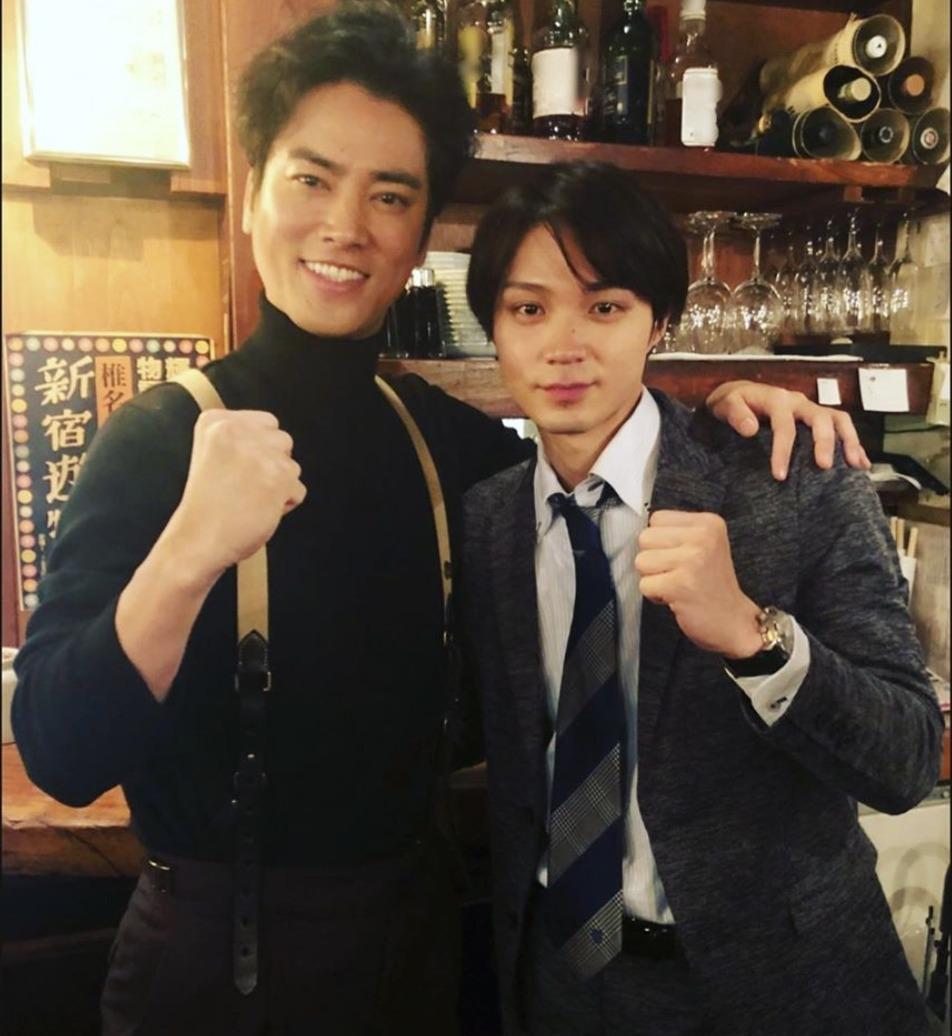 桐谷健太さんと磯村勇斗さんの画像