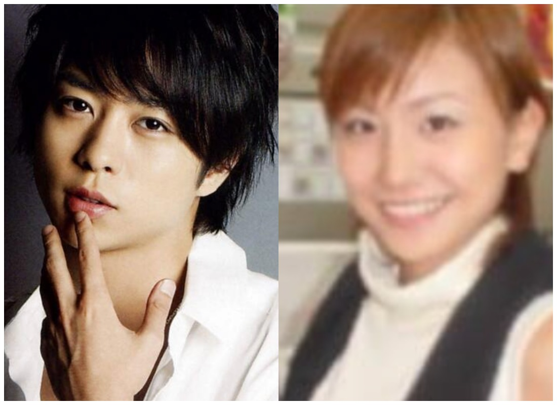 櫻井翔さんと高内三恵子さんの画像