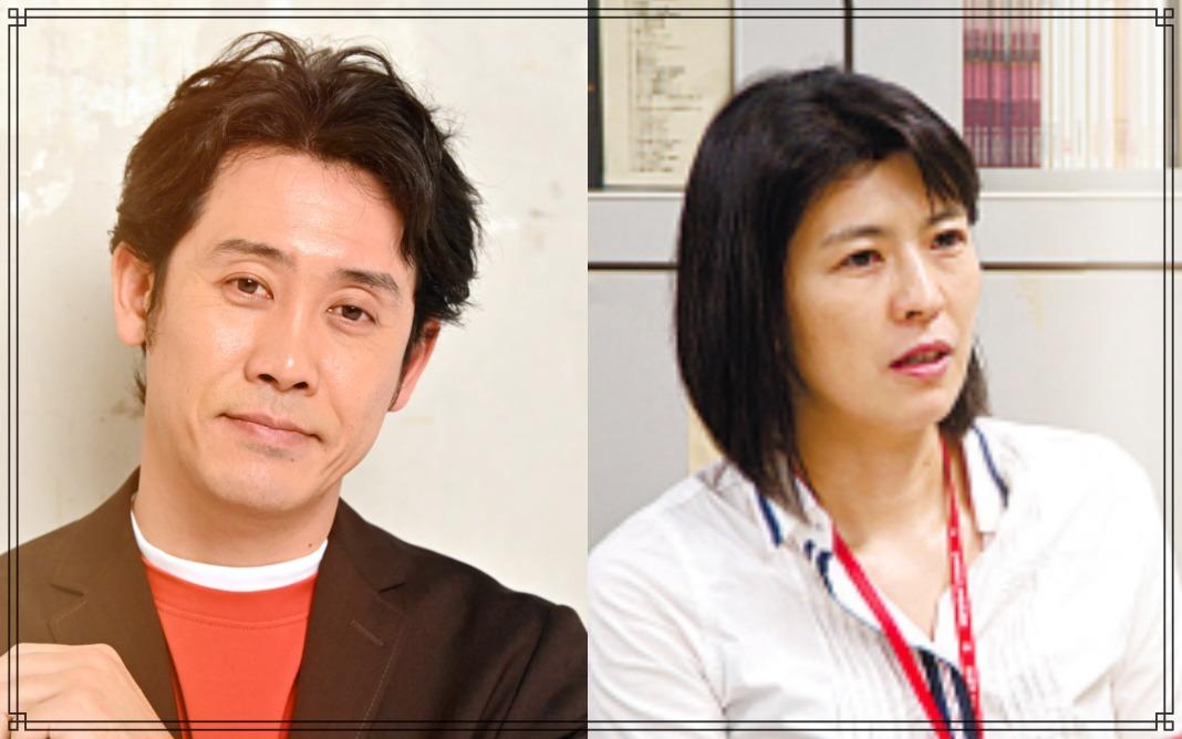 大泉洋さんと中島久美子さん