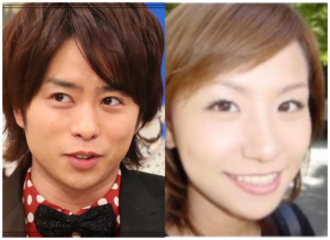 櫻井翔さんと高内三恵子さん
