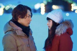 映画『雪の華』のワンシーン