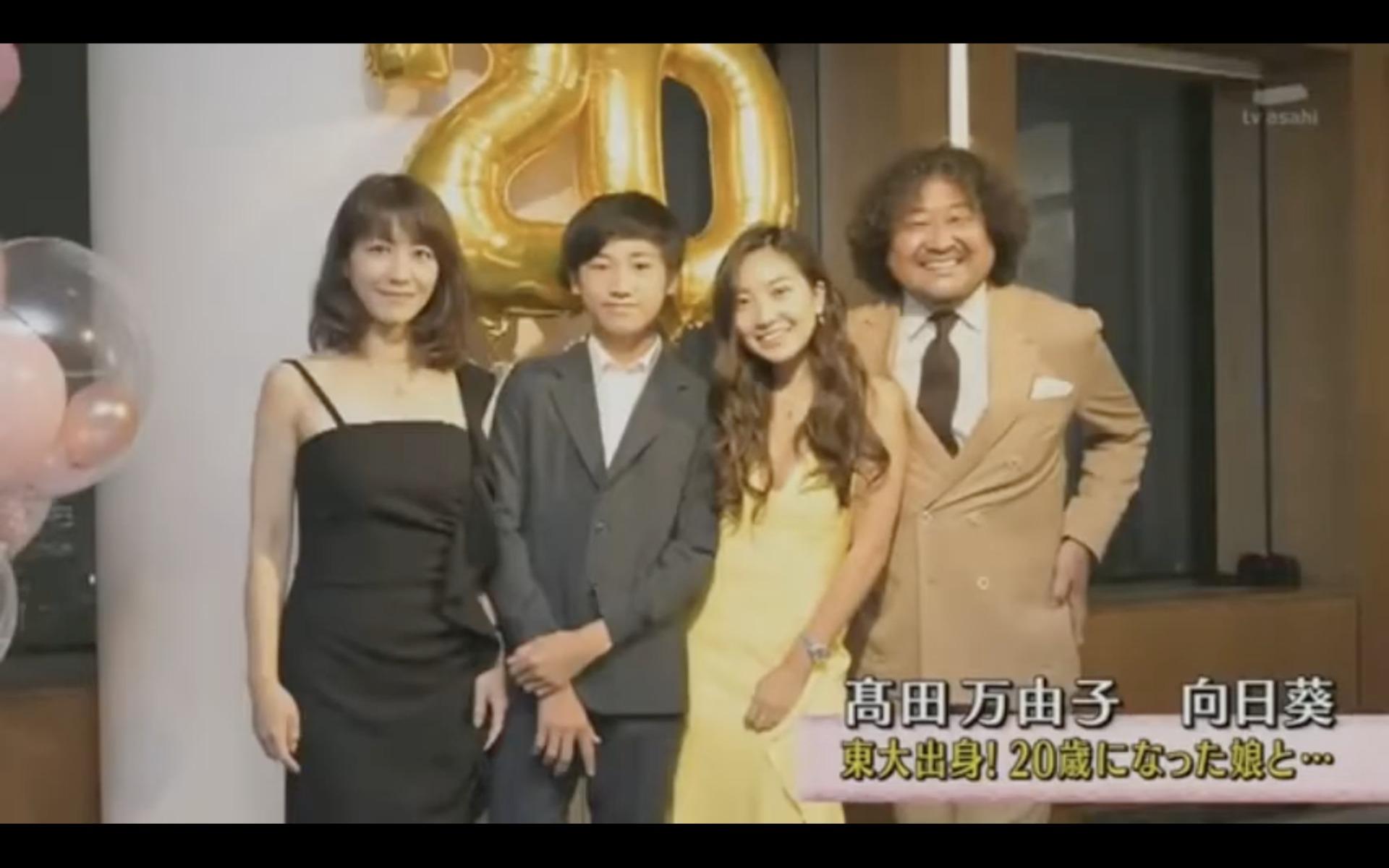 葉加瀬太郎さんのご家族
