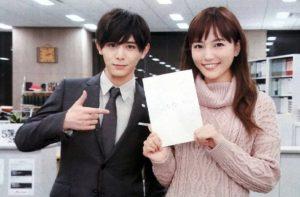 川口春奈さんと山田涼介さんの画像