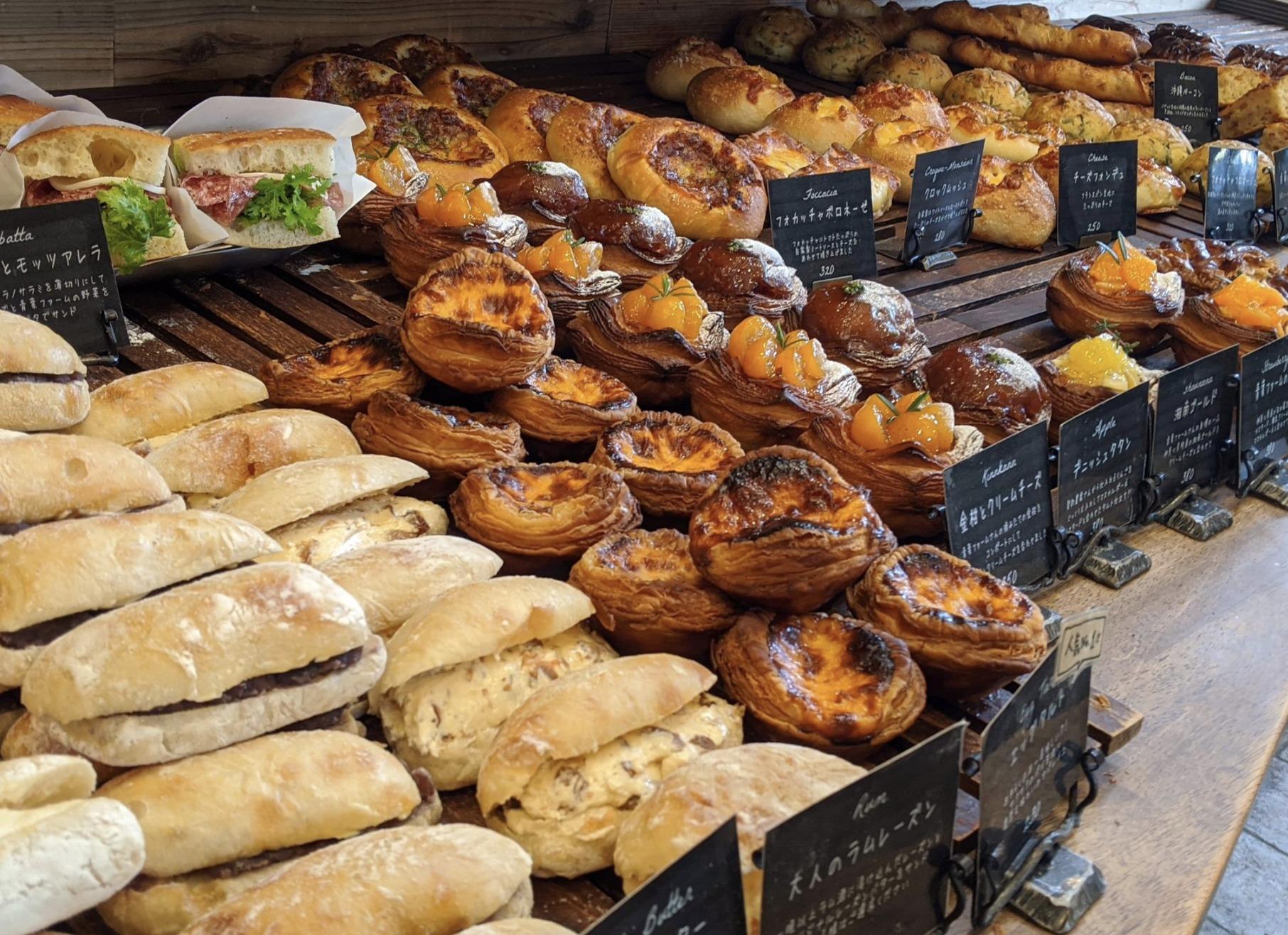 『丘の上のパン屋』の店内画像
