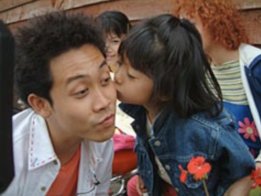 大泉洋さんと娘さん