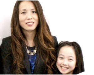 本田望結さんとお母様の画像