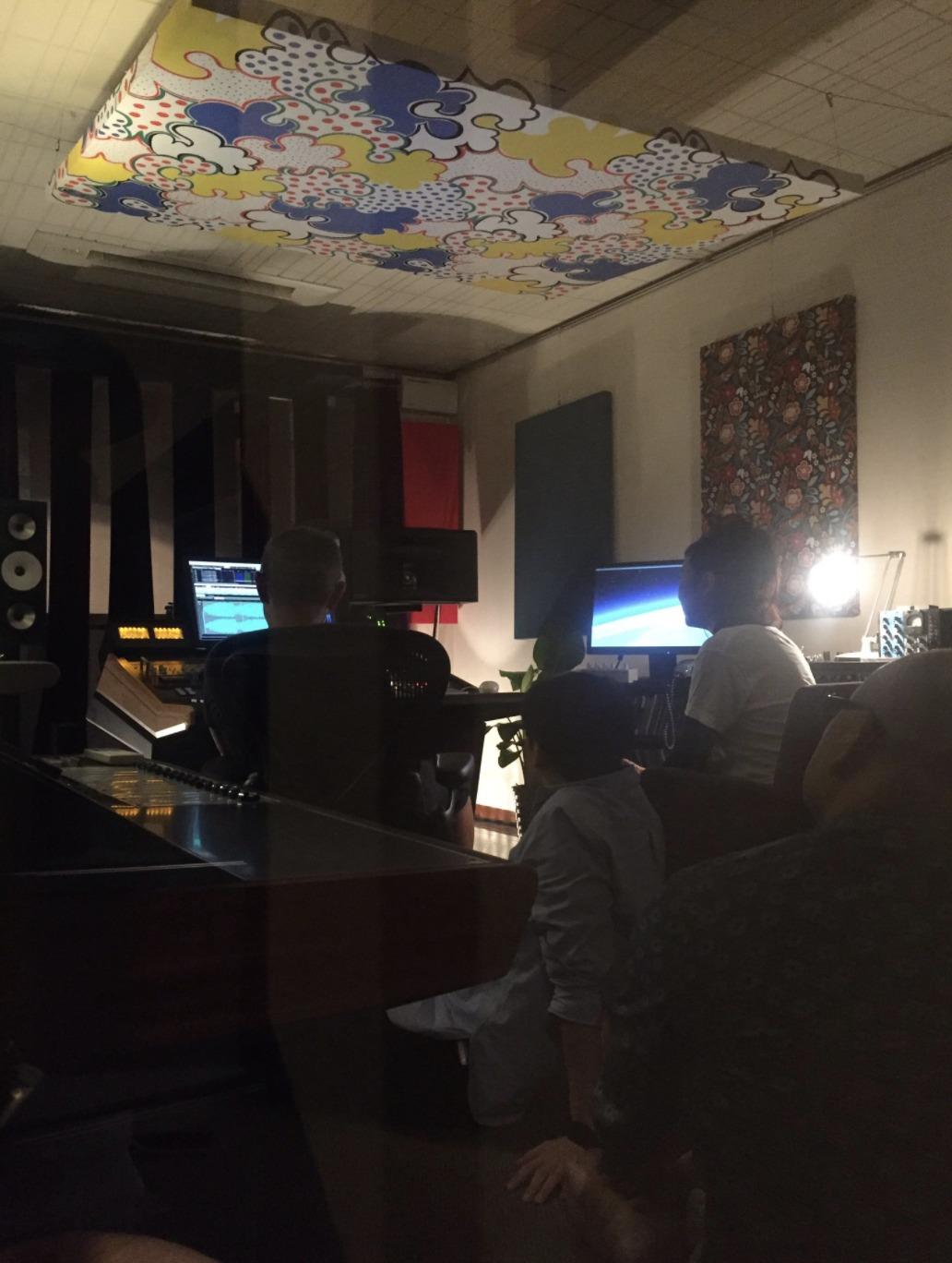 レコーディングルームの画像