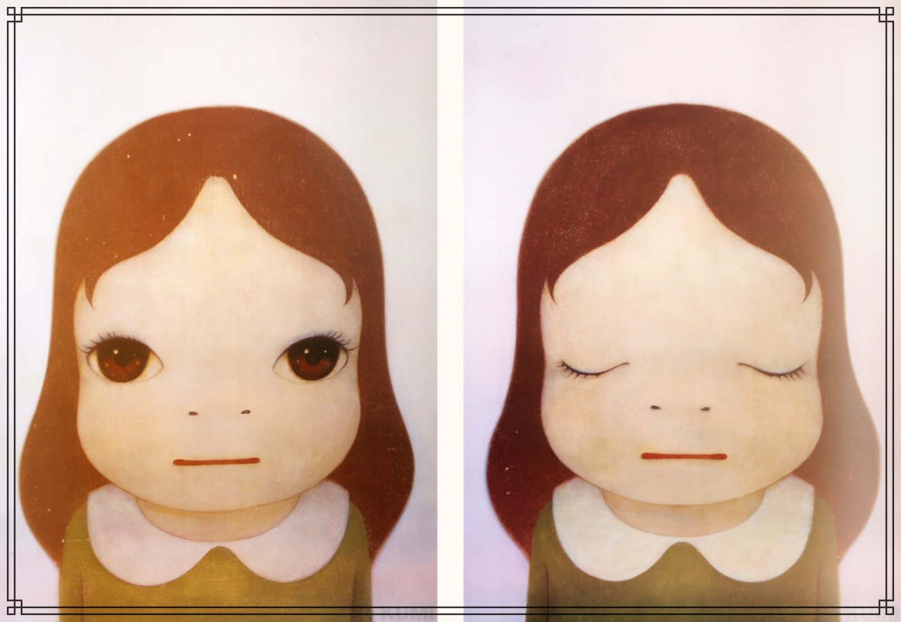 奈良美智さんの作品