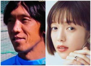 中村俊輔さんと佐藤栞里さんの画像