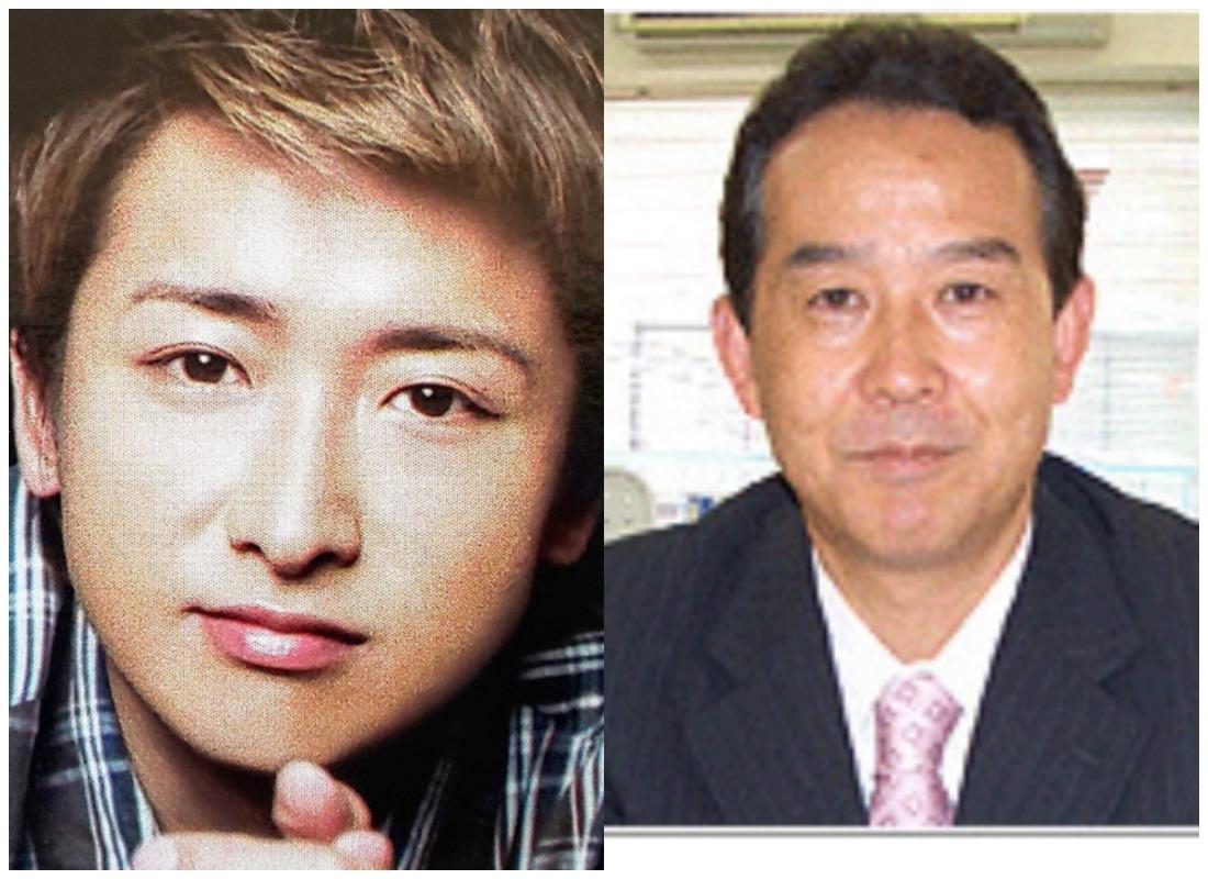 大野智さんと大野良夫さんの画像