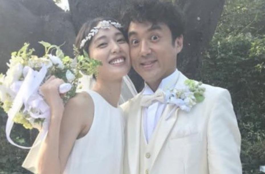 ムロツヨシさんと戸田恵梨香さんの画像