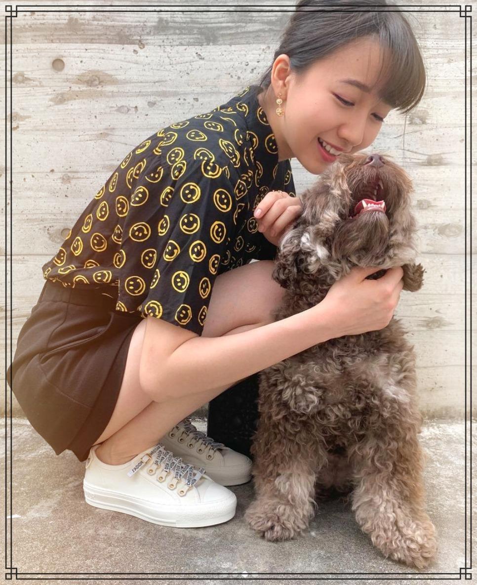愛犬アムとcocomiさんの画像