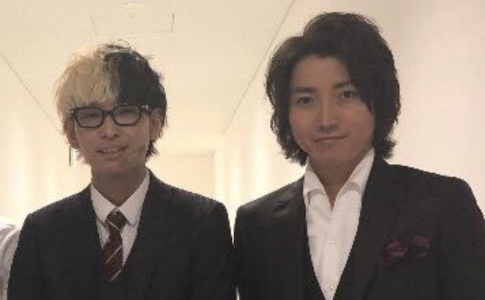 藤原竜也さんとヒカルさんの画像