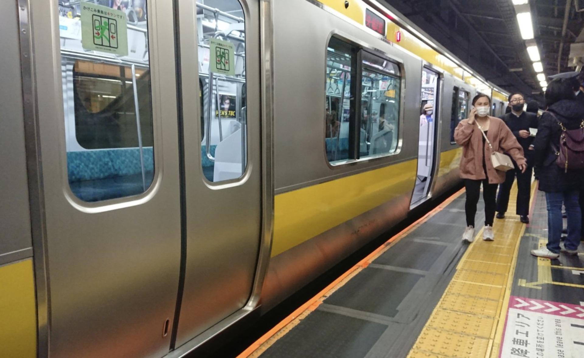 事故画像 中央総武線 大久保駅で人身事故!電車遅延や現場状況は  