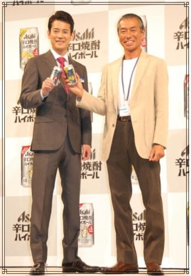 唐沢寿明さんと柳葉敏郎さんの画像