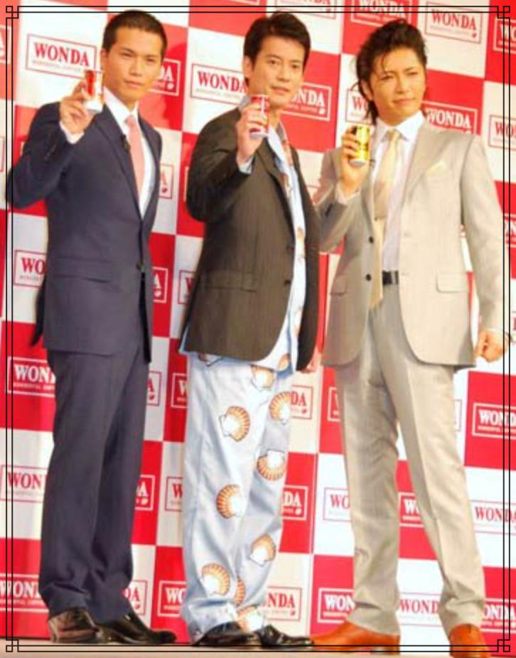 GACKTさん、唐沢寿明さん、市原隼人さんの画像