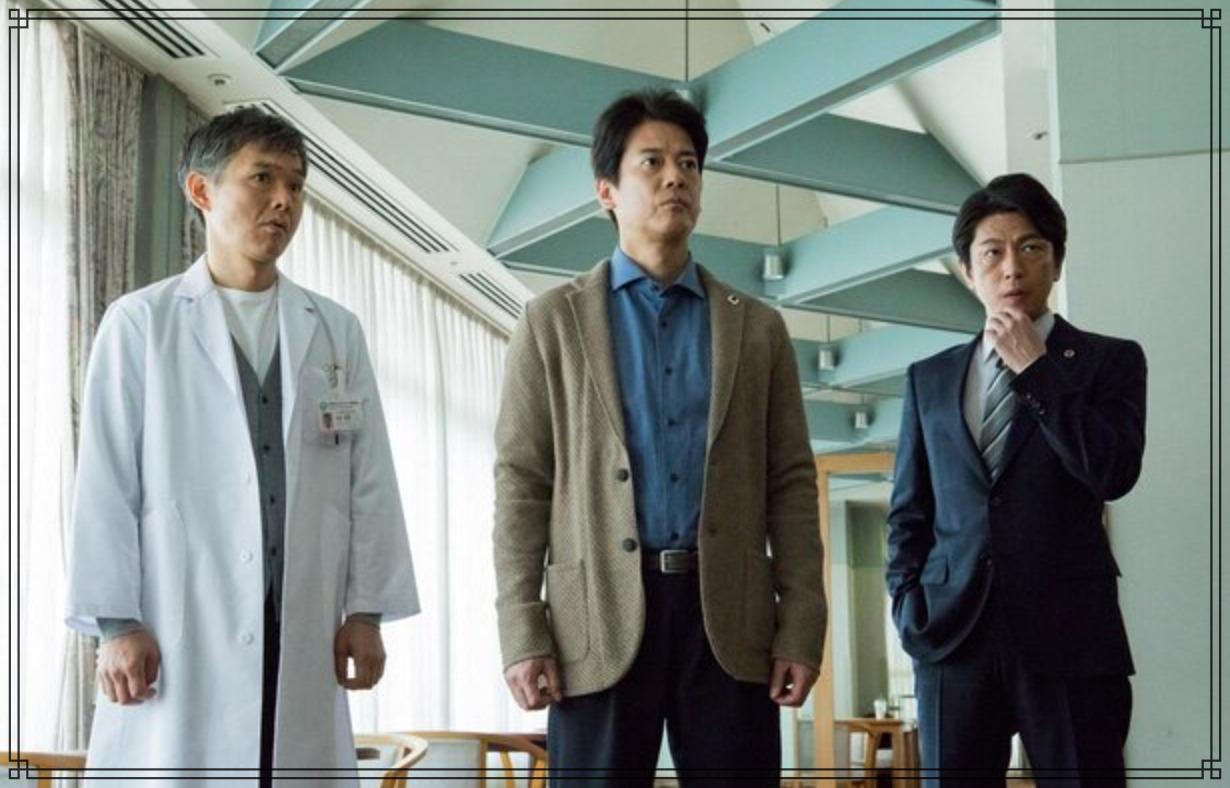 唐沢寿明さん、及川光博さん、渡部篤郎さんの画像